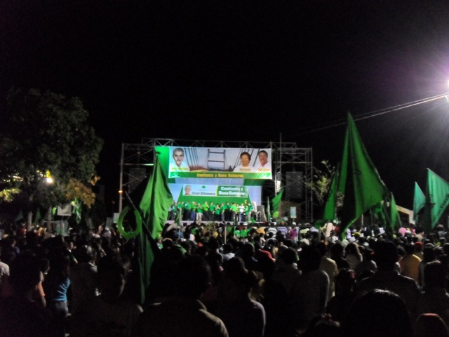 Peruvian Politics in Tarapoto, San Martin
