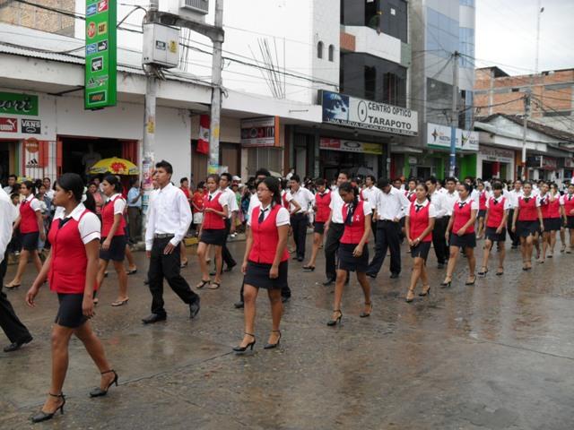 Tarapoto Parade Peru Independence Day