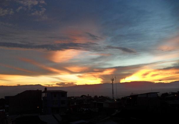 Tarapoto Fiery Sunset