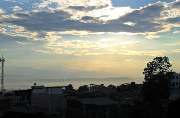 Tarapoto Hazy Sunset