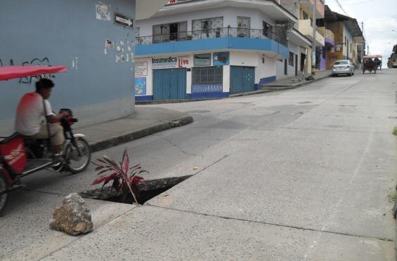 tarapoto road hole