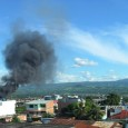 It's been a hot, hot day here in Tarapoto. Two blocks down from the main square, things just got a lot hotter… Black smoke billowing up from a city center […]
