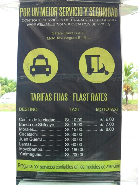 course taxi estimation