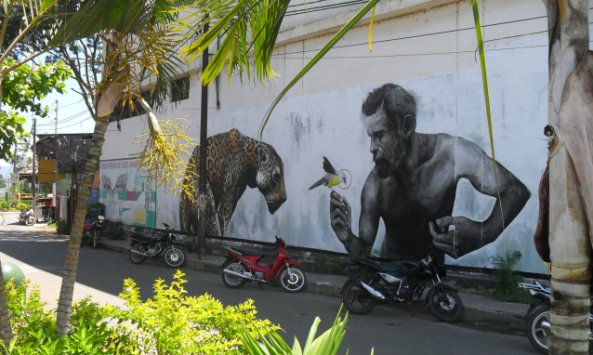 New Street Art in Tarapoto