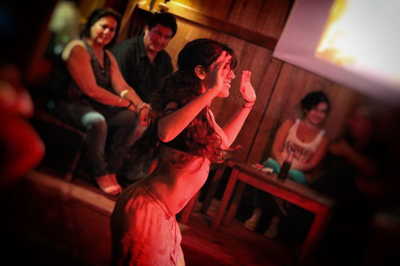 Afro-Peruvian dance classes with Susan Alvan