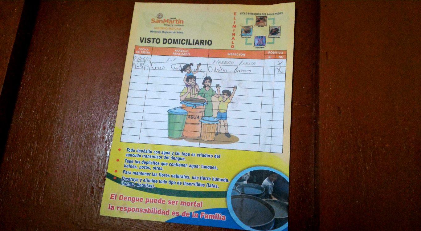 Dengue Tarapoto