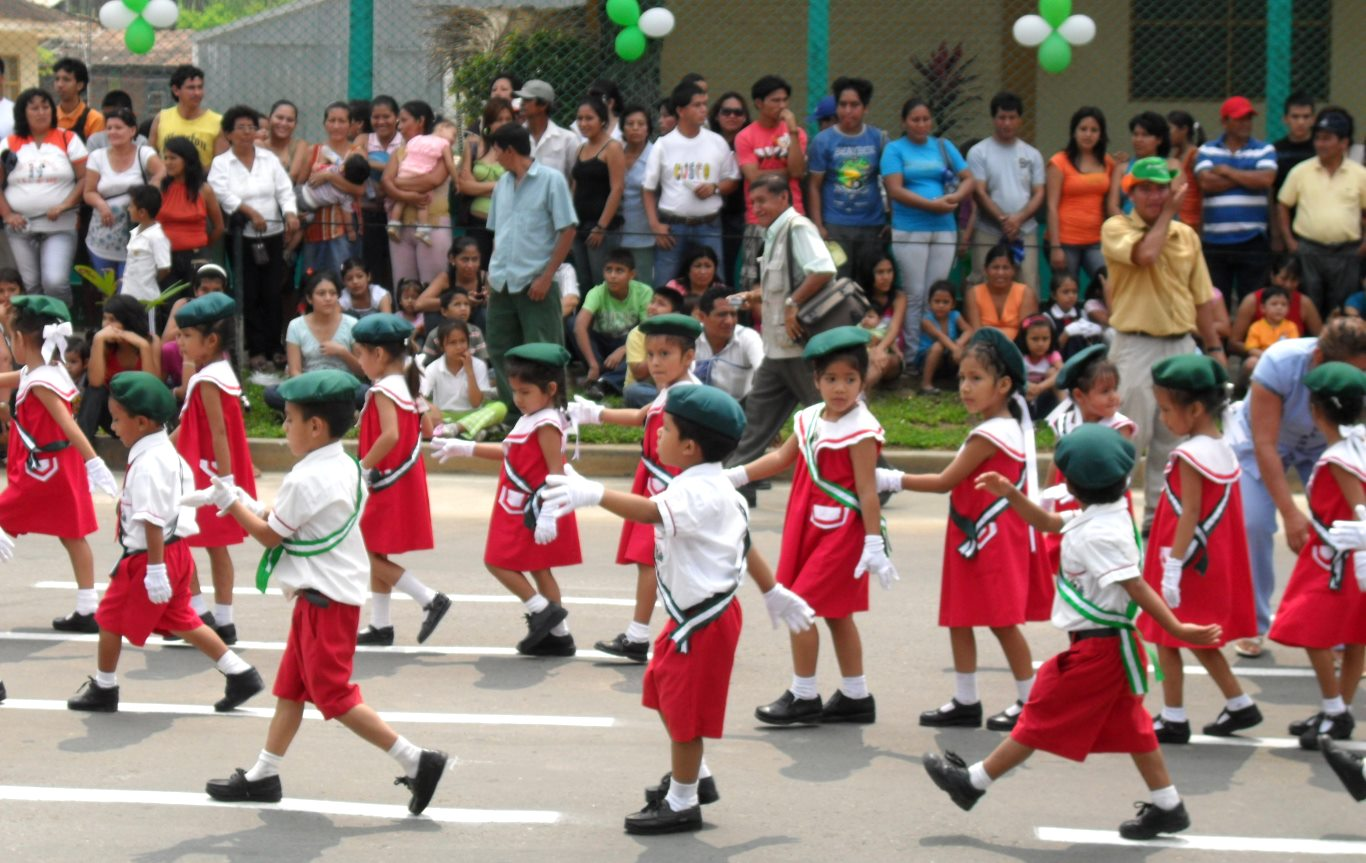 Kids in Tarapoto