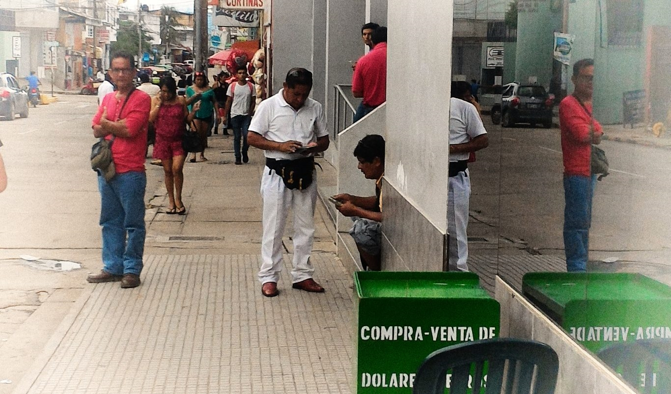 Change money in Tarapoto