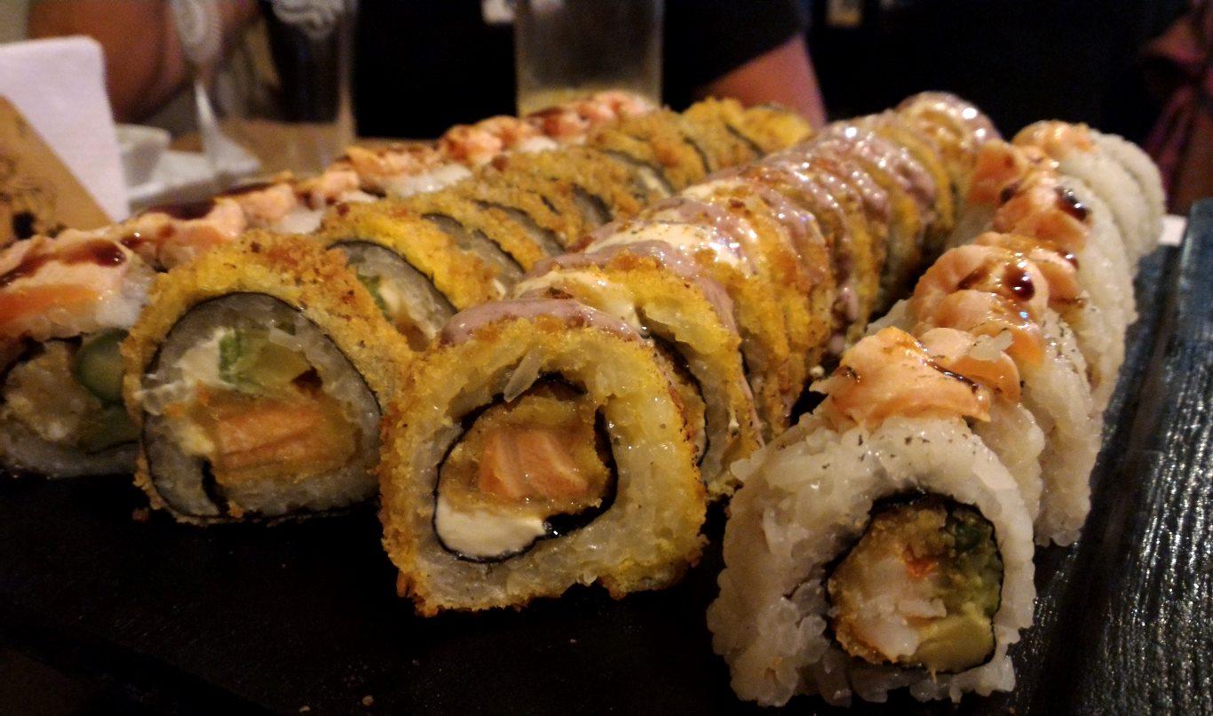 Makis at Kiru Sushi Japenese Cuisine, Tarapoto