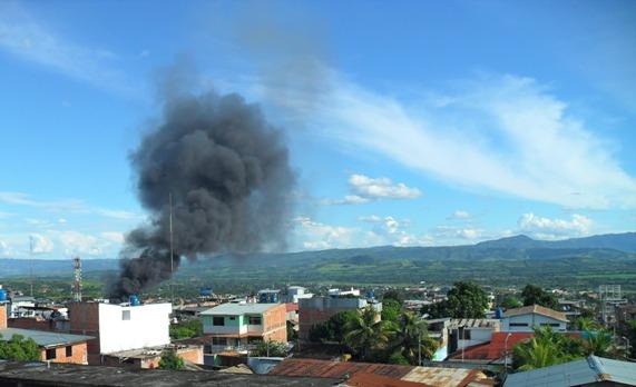 Fire in Tarapoto