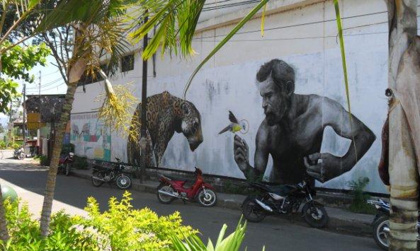 New Street Art in Tarapoto